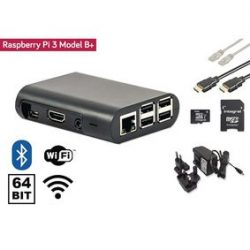 Raspberry Pi 3+ starter kit + W-Fi + Bluetooth + NOOBS Software Tool