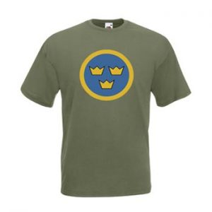Air Force Sweden / Olivgrön - M (T-shirt)