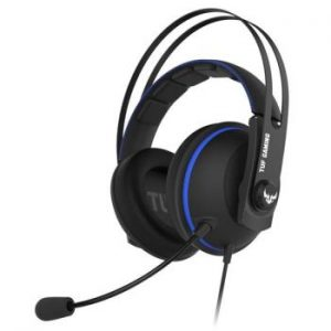 ASUS TUF H7 Core Gaming Headset for PC, MAC, PS4 - Blue
