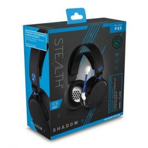ABP PS5 Stereo Gaming Headset - Shadow V Black