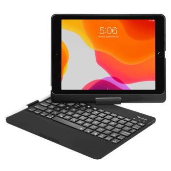 Targus VersaType Bluetooth Keyboard Case iPad 10.2 (8th/7th Gen) and iPad Pro 10.5'' Nordic Black