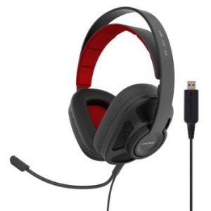 KOSS Headset GMR545 AIR USB Over-Ear Mic Remote Svart