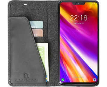 Krusell Sunne 2 Card FolioWallet LG G7 ThinQ Black