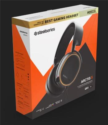SteelSeries Arctis 5 (2019 Edition) Headset /Black 61504