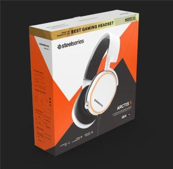 SteelSeries Arctis 5 (2019 Edition) Headset /White 61507