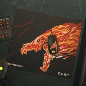 SteelSeries Qck + Limited CS:GO Howl