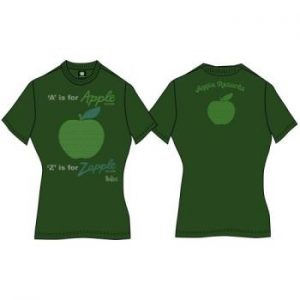 The Beatles;The Beatles: Ladies Premium Tee/A is for Apple (Back Print) (X-Large)