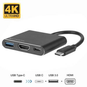 4smarts OfficeCord USB-C Multiport Adapter - Samsung Dex, Huawei MateD