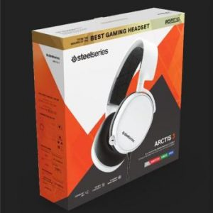 SteelSeries Arctis 3 (2019 Edition) Headset /White 61506