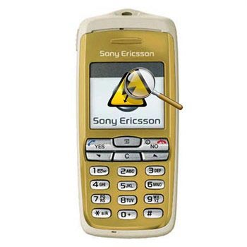 Sony Ericsson T600i Diagnostisera