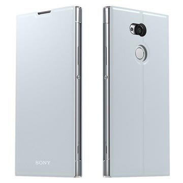 Sony Xperia XA2 Ultra Style Skal & Stativ SCSH20 - Silver