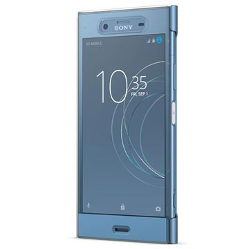 Sony Xperia XZ1 Style Cover Touch SCTG50 - Blå