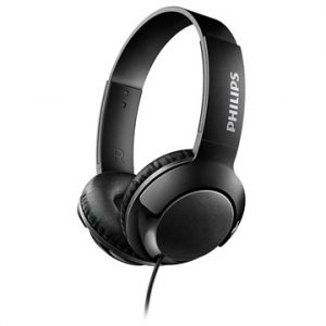Philips Bass+ On-Ear Hörlurar SHL3070BK/00 - Svart