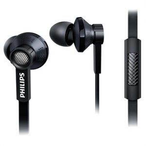 Philips TX1 In-Ear Hörlurar med Mikrofon - Svart