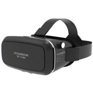 VR Shinecon Virtual Reality 3D Glasögon & Bluetooth-Fjärrkontroll -