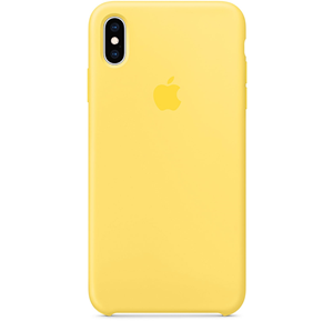 Apple iPhone XS Max Silicone Case - Canary Yellow