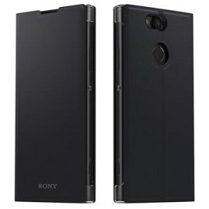 Sony Xperia XA2 Style Cover Stand SCSH10 - Svart