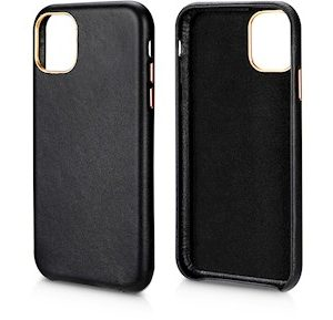 Andersson Genuine Leather Case Black for Apple iPhone 11 Pro