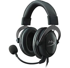 HyperX Cloud II Headset Grey Metal