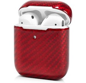 Andersson Airpods Case Micro Fiber Glossy Red