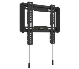 Multibrackets M Universal Wallmount Fixed Small Black VESA 50x50-200x200 Max 50kg