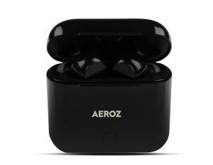 AEROZ - TWS-122 BLACK - True Wireless Stereo earbuds with charging case