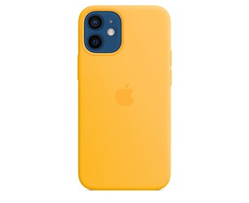 Apple iPhone 12 mini Silicone Case with MagSafe - Sunflower