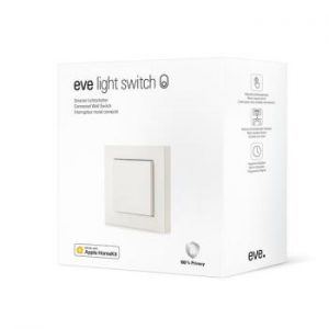 EVE - Light Switch Connected Wall Switch HomeKit (SE/NO standard compatible)